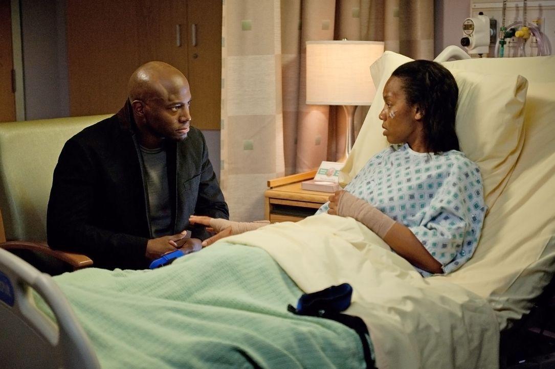 Sam (Taye Diggs, l.) besteht darauf, seine Schwester Corinne (Anika Noni Rose, r.) aus dem Krankenhaus zu entlassen, damit er sich daheim um sie kü... - Bildquelle: ABC Studios