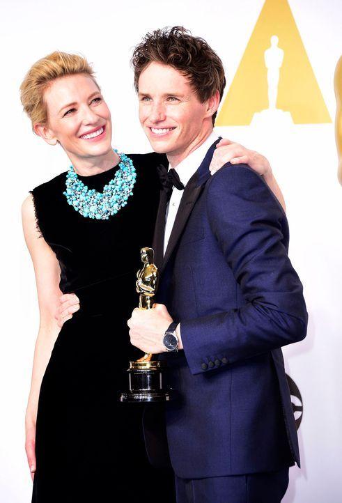 Oscars-Eddie-Redmayne-Cate-Blanchett-15-02-22-dpa - Bildquelle: dpa