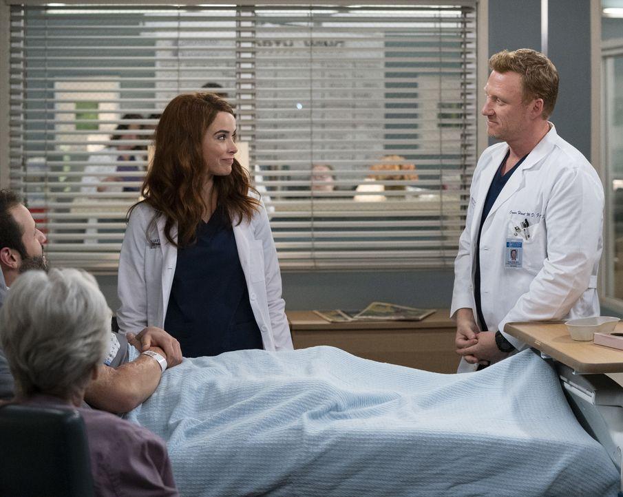 Dr. Megan Hunt (Abigail Spencer, l.); Dr. Owen Hunt (Kevin McKidd, r.) - Bildquelle: Mitch Haaseth ABC Studios