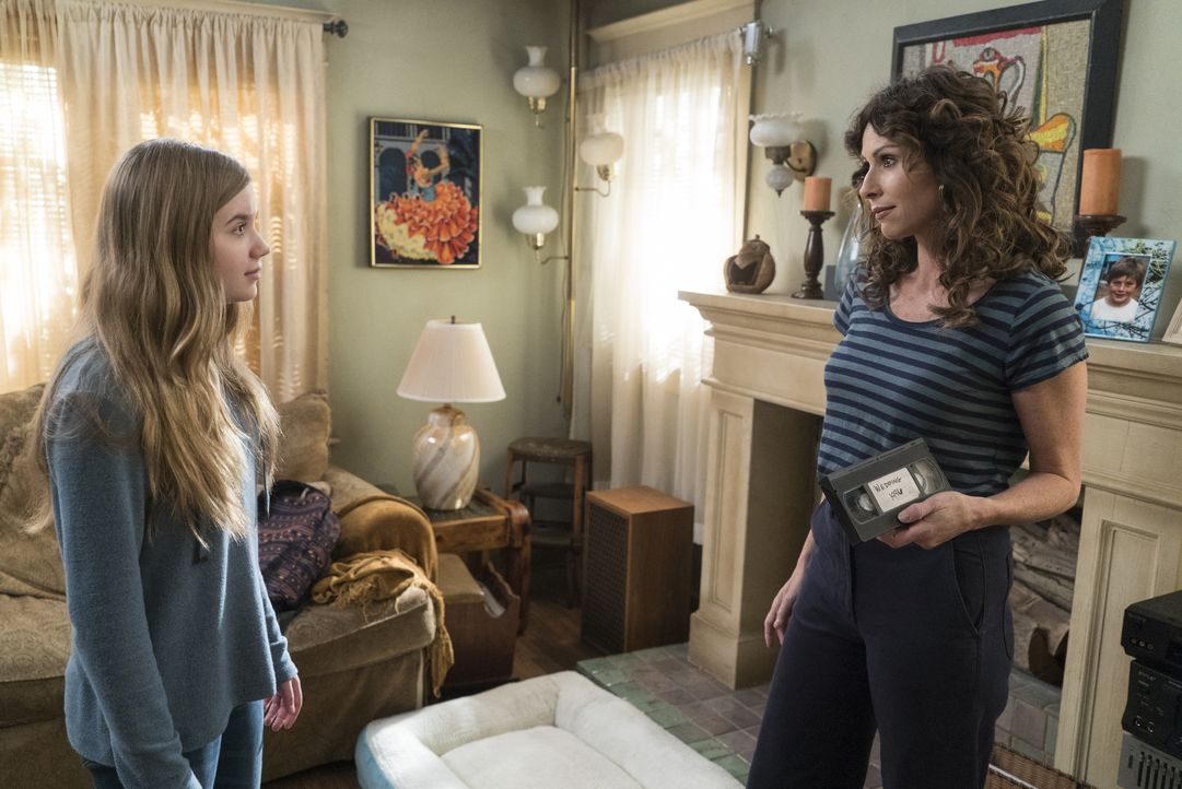 Dylan DiMeo (Kyla Kenedy, l.); Maya DiMeo (Minnie Driver, r.) - Bildquelle: 2017-2018 American Broadcasting Companies. All rights reserved.