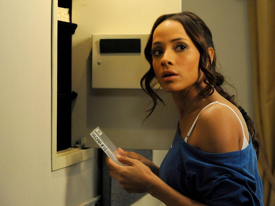 Während Rosie (Dania Ramirez) ihren neuen Job im Haus der Powells antritt und sich auf die Suche nach der DVD über Flora macht, soll Valentina als E... - Bildquelle: ABC Studios