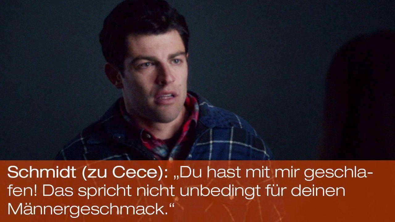 New Girl - Zitate - Staffel 1 Folge 24: Schmidt (Max Greenfield) - Bildquelle: 20th Century Fox