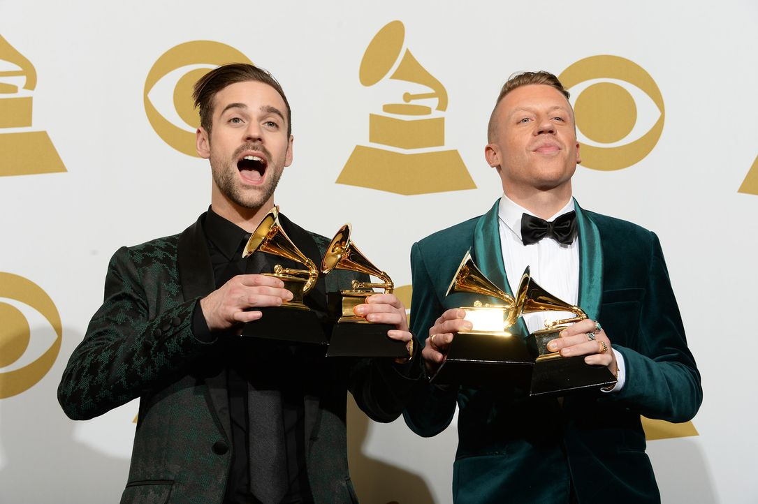 Grammy-Awards-Ryan-Lewis-Macklemore-14-01-26-AFP - Bildquelle: AFP