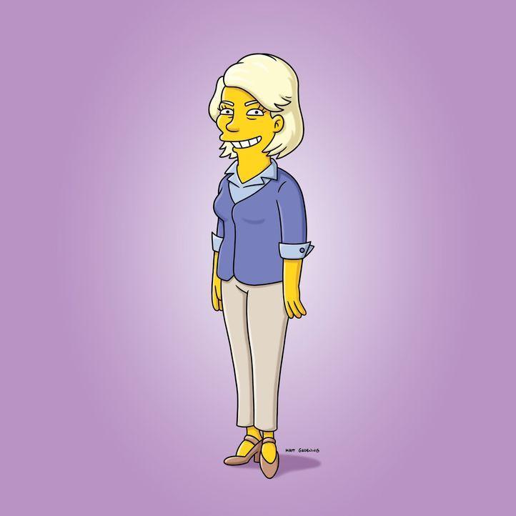 Marge schreibt einen Brief an die LifestyleBeraterin Martha Stewart, ob sie nicht ihr Weihnachtsfest retten könne. Postwendend steht diese vor der... - Bildquelle: und TM Twentieth Century Fox Film Corporation - Alle Rechte vorbehalten