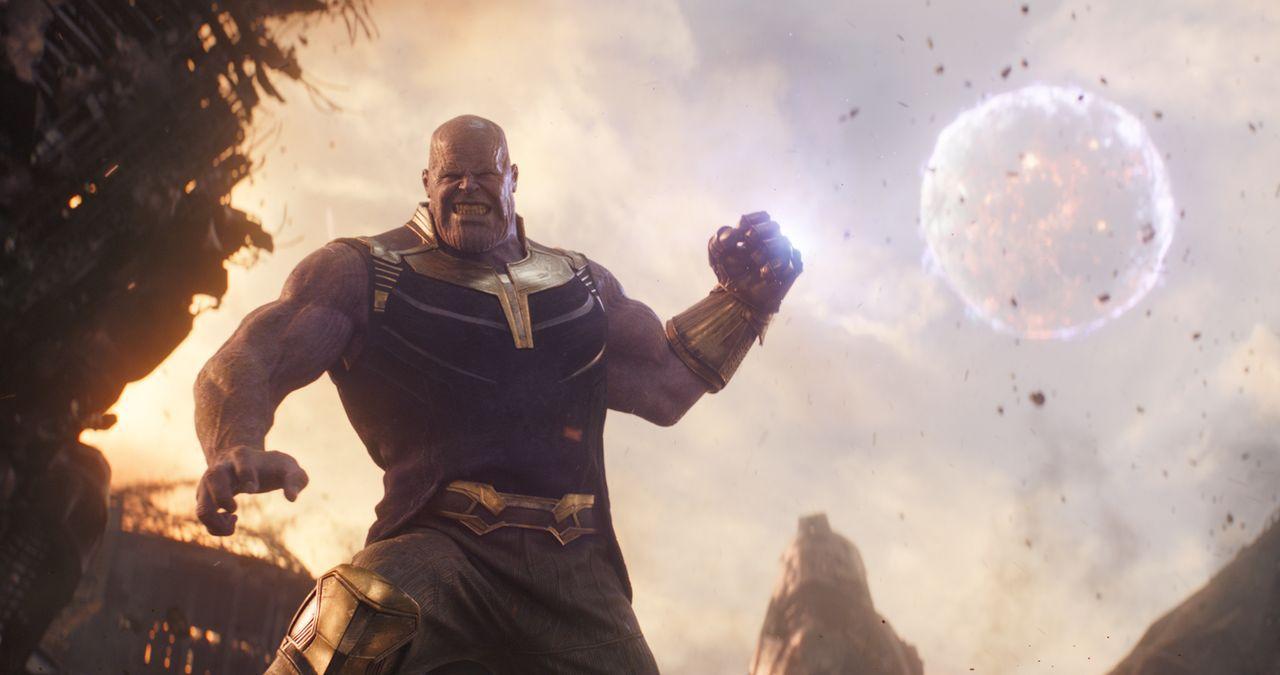 Thanos (Josh Brolin) - Bildquelle: Marvel Studios 2018