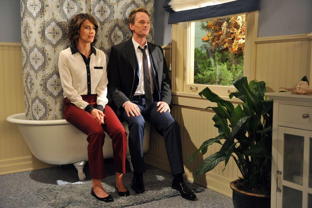 Wie wird es mit Robin (Cobie Smulders, l.) und Barney (Neil Patrick Harris, r.) weitergehen? - Bildquelle: 20th Century Fox International Television