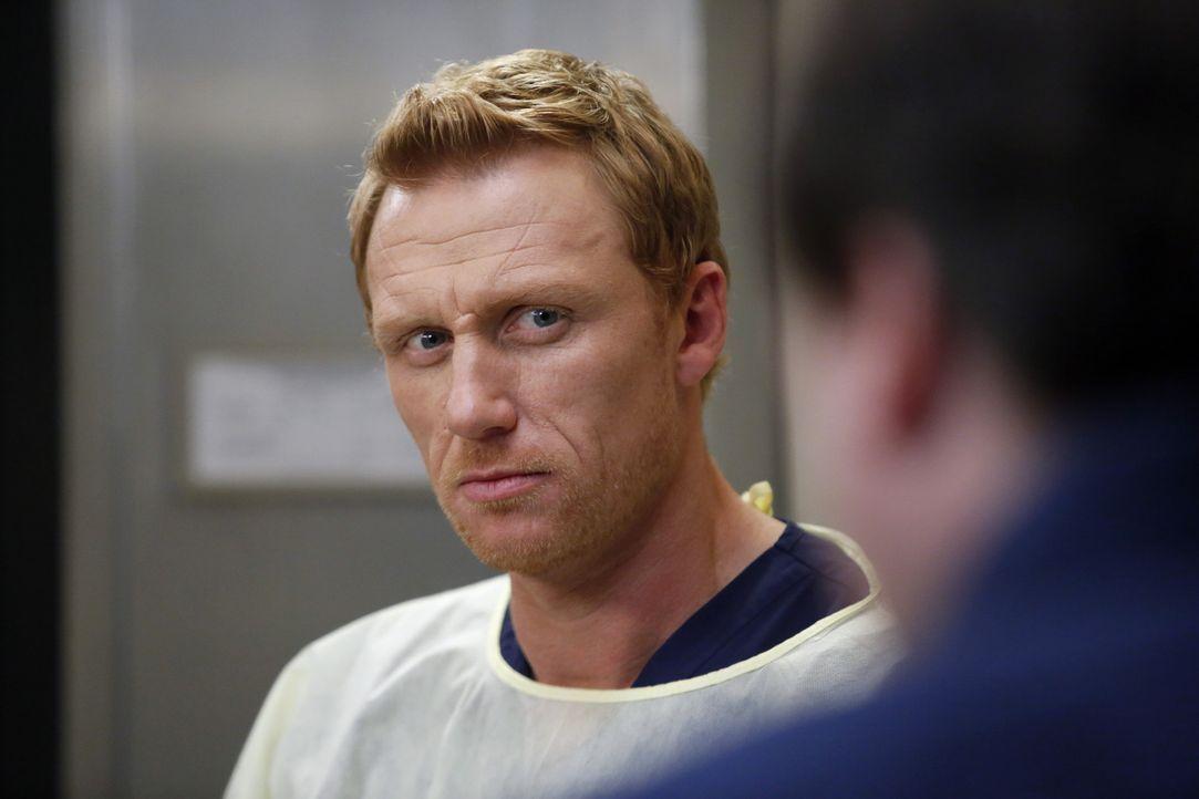 Versucht alles, damit die Notaufnahme nicht geschlossen wird: Owen (Kevin McKidd) ... - Bildquelle: ABC Studios