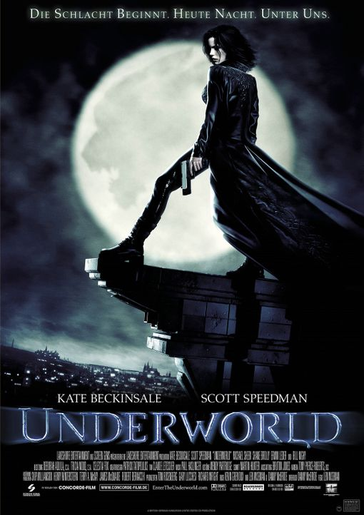 Underworld mit Kate Beckinsale - Bildquelle: TMG