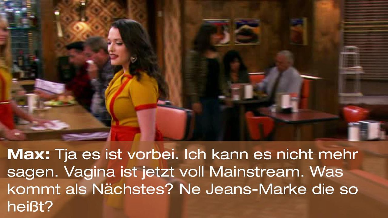 2-broke-girls-zitat-staffel2-episode2-glueckskette-max-vagina-warnerpng 1600 x 900 - Bildquelle: Warner Brothers Entertainment Inc.