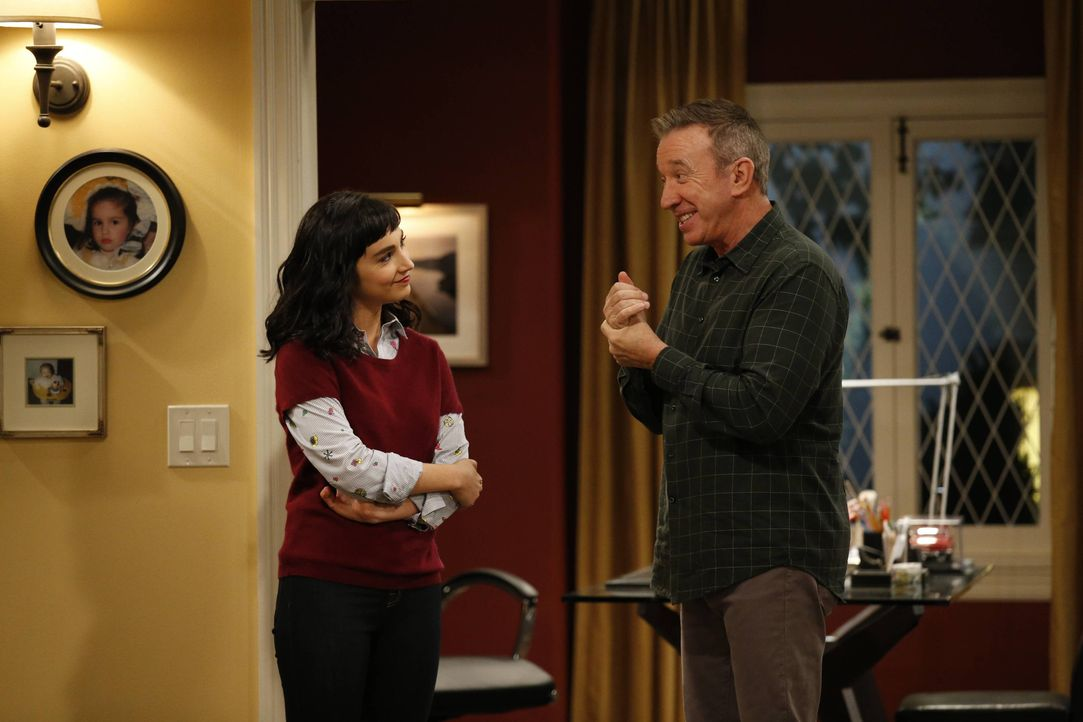 Mandy Baxter (Molly Ephraim, l.); Mike Baxter (Tim Allen, r.) - Bildquelle: 2016-2017 American Broadcasting Companies. All rights reserved.