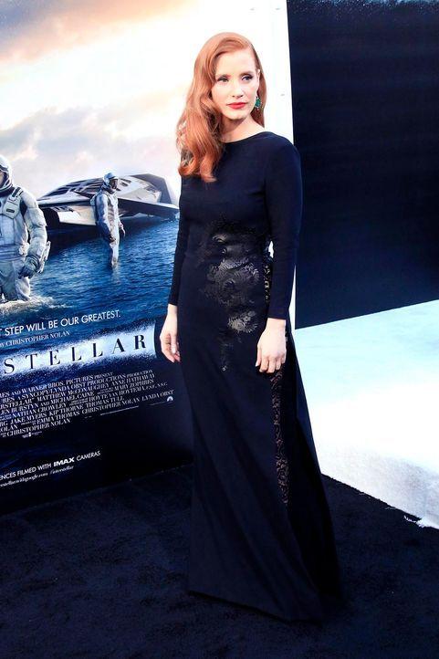 Interstellar-Premiere-LA-Jessica-Chastain-14-10-26-1-dpa - Bildquelle: dpa