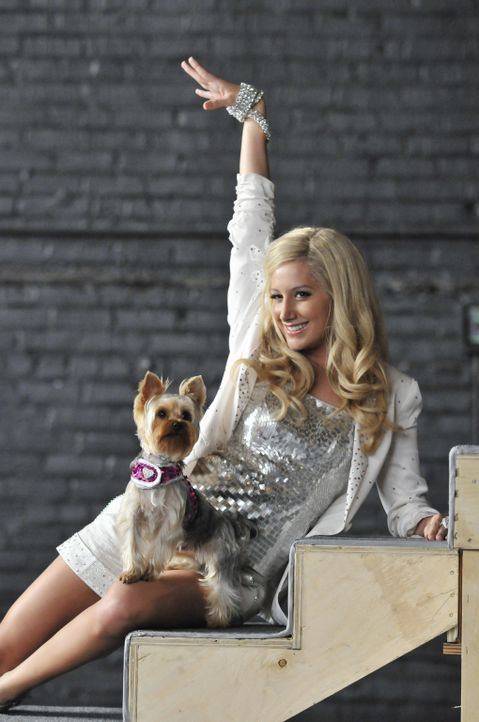 "Haben einen starken Auftritt: Sharpay (Ashley Tisdale) und ""Boy"" ... - Bildquelle: 2010 Disney Enterprises, Inc. All rights reserved."