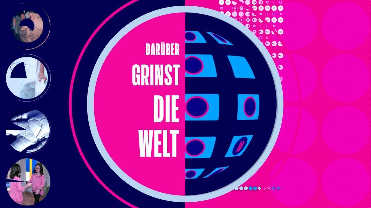 Darüber grinst die Welt: Die puppenlustigsten Patzer - Artwork - Bildquelle: ProSieben