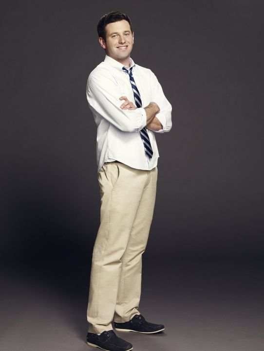 (1. Staffel) - Danny versucht, seinen Mitbewohner Justin (Brent Morin) und dessen Freunde in wahre Frauenhelden zu verwandeln. Doch wird ihm das gel... - Bildquelle: Warner Brothers