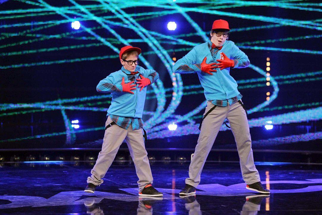 Got-To-Dance-Ricardo-und-Janik-06-SAT1-ProSieben-Guido-Engels - Bildquelle: SAT.1/ProSieben/Guido Engels