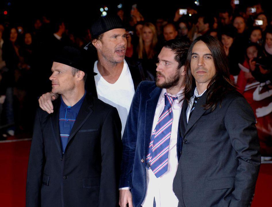 Red Hot Chili Peppers - Bildquelle: WENN