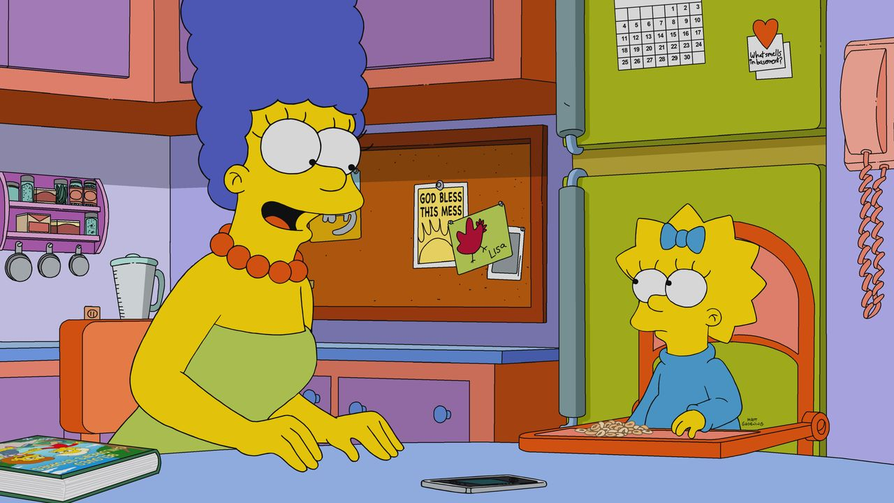 Marge (l.); Maggie (r.) - Bildquelle: 2019-2020 Twentieth Century Fox Film Corporation.  All rights reserved.