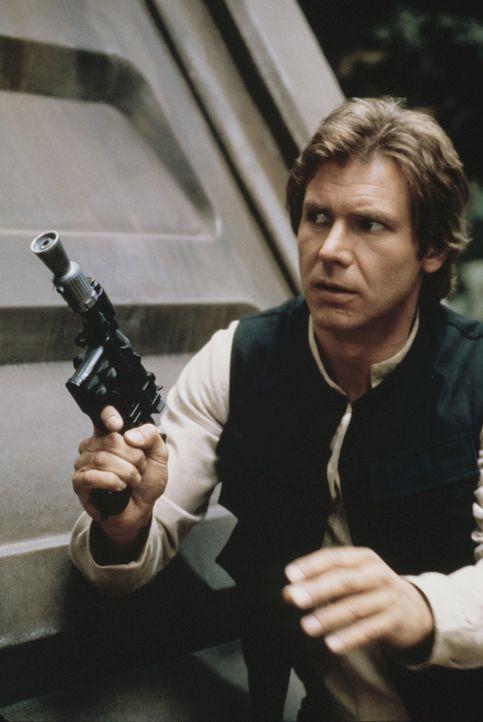 Zwischen den Mächten des Lichts und den Boten des Bösen: Abenteurer Han Solo (Harrison Ford) schließt sich den Rebellen an und kämpft gegen das... - Bildquelle: Lucasfilm LTD. & TM. All Rights Reserved.