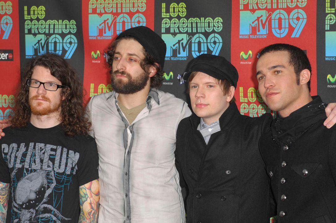 Fall Out Boy: Trennung um Freundschaften zu retten 1505 x 1000 - Bildquelle: World Entertainment News Network