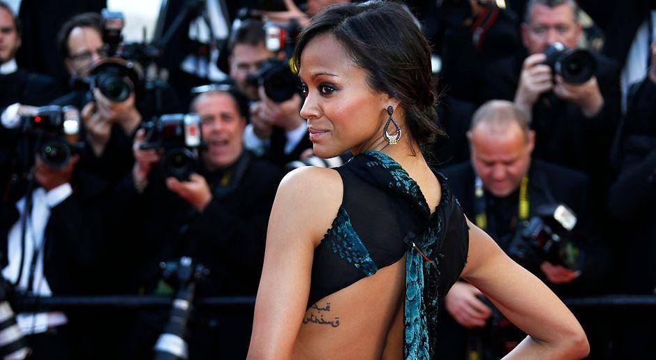 Cannes-Filmfestival-Zoe-Saldana-14-05-15-AFP - Bildquelle: AFP