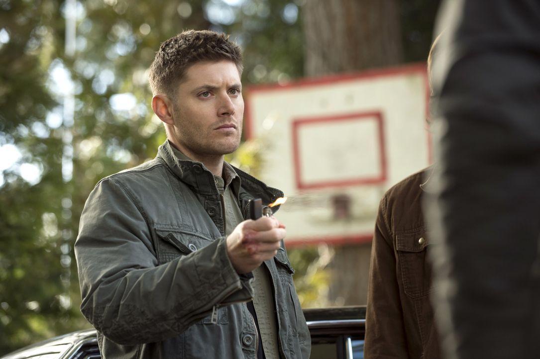 Castiel ist entsetzt, als er erkennt, welcher Gefahr sich Dean (Jensen Ackles) ausgesetzt hat, um eine Waffe gegen Abaddon zu haben ... - Bildquelle: 2013 Warner Brothers