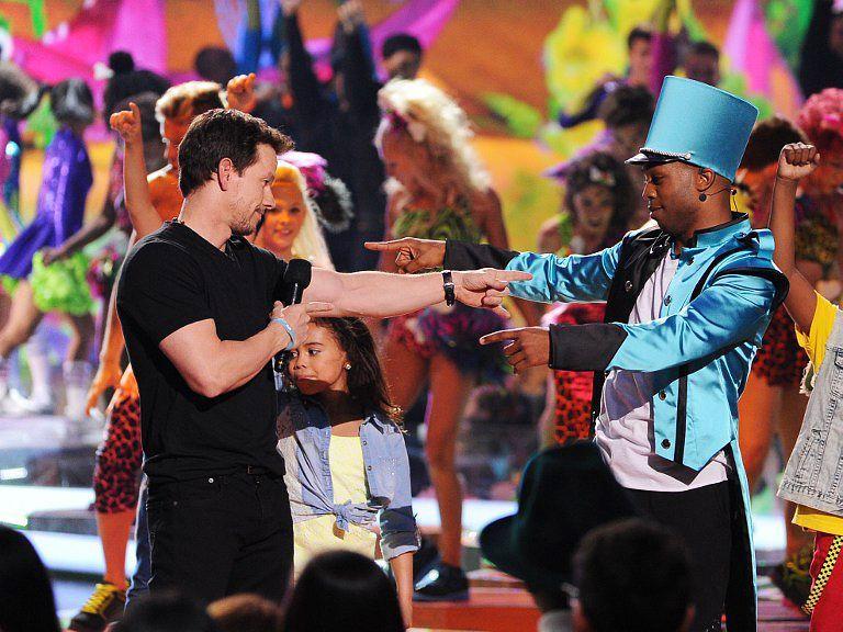 Kids-Choice-Awards-Mark-Wahlberg-Todrick-Hall-14-03-29-getty-AFP - Bildquelle: getty-AFP
