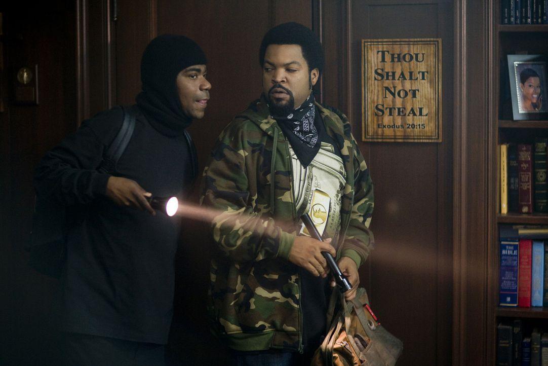 Durell (Ice Cube, r.) braucht dringend 17.000 Dollar, um seiner Ex-Frau Schulden zu erstatten, denn ansonsten verliert er das Sorgerecht für seinen... - Bildquelle: 2007 Screen Gems, Inc. All Rights Reserved.