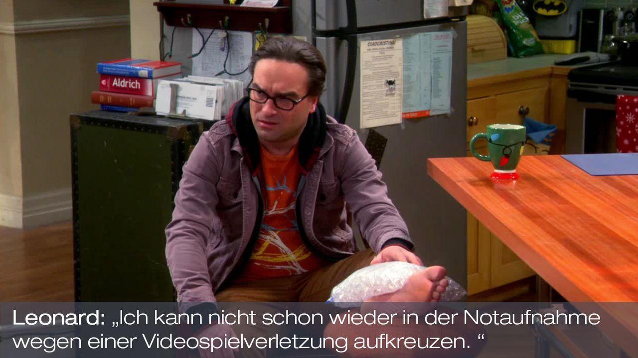 Staffel 7 Folge 11 - Zitat 1 - Bildquelle: Warner Bros. Television