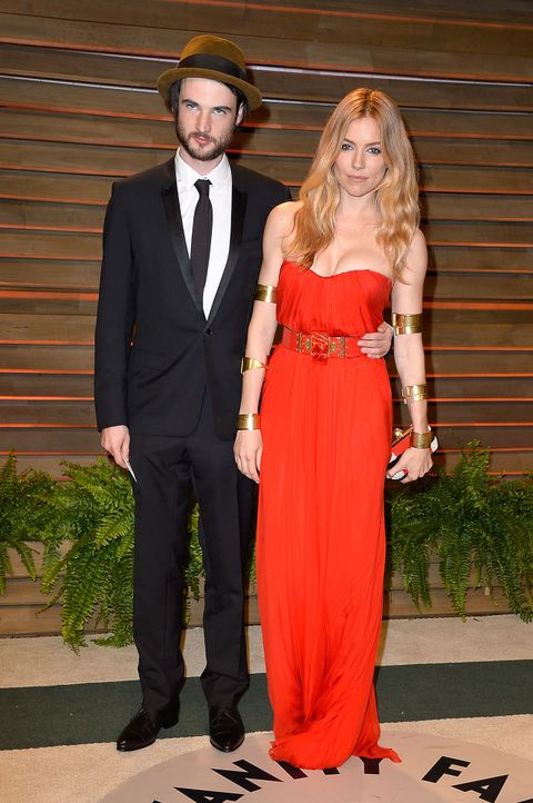 Oscars-Vanity-Fair-Party-Tom-Sturridge-Sienna-Miller-140302-getty-AFP - Bildquelle: getty-AFP