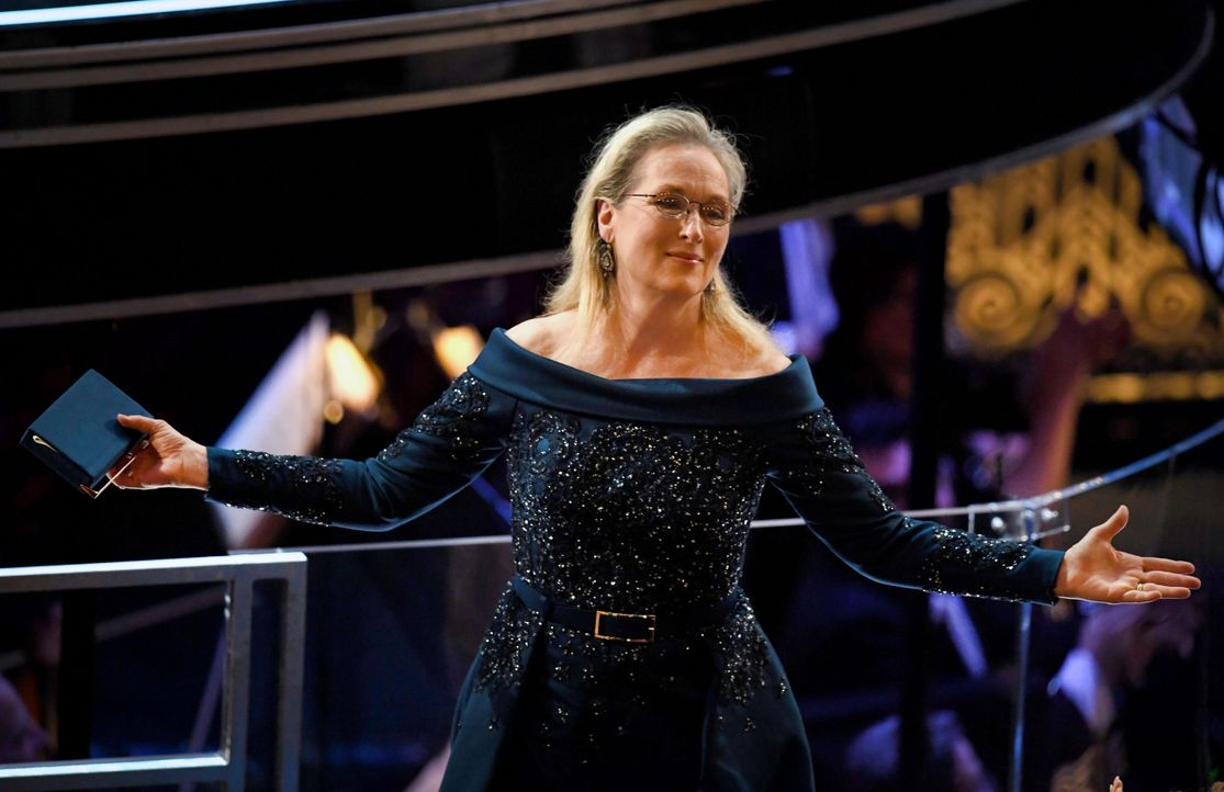 Meryl-Streep-Zuschauerraum-AFP - Bildquelle: Kevin Winter/Getty Images/AFP