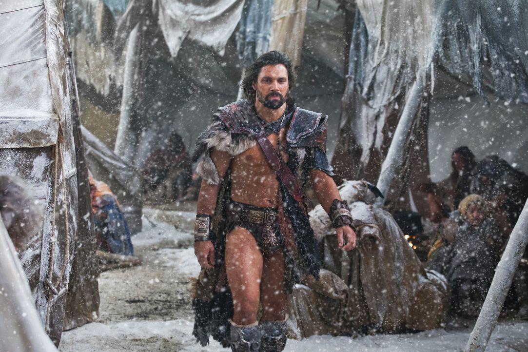 Der Konflikt zwischen Spartacus und Crixus (Manu Bennett) spitzt sich immer weiter zu, weil der Gallier lieber mit dem Schwert in der Hand, als mit... - Bildquelle: 2012 Starz Entertainment, LLC. All rights reserved.