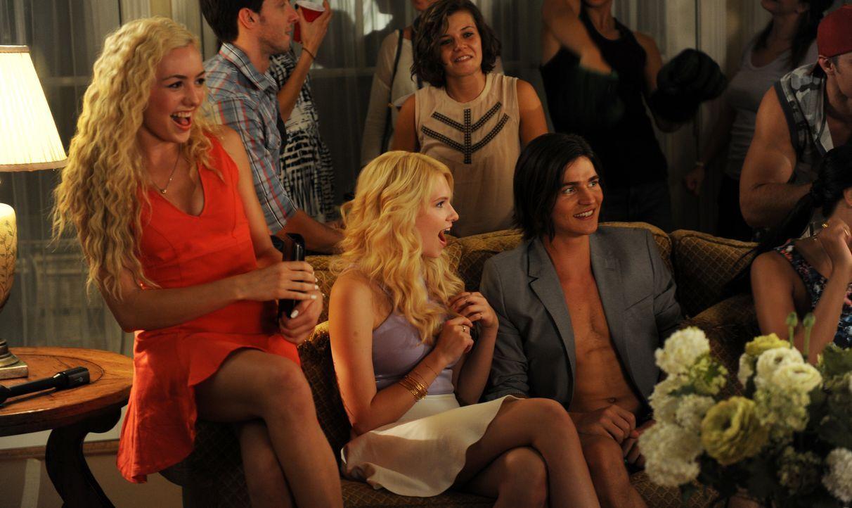 (v.l.n.r.) Mackenzie (Peyton List); Whitney (Claudia Lee); Colin (Will Peltz) - Bildquelle: Jacob Hutchings SquareOne Entertainment / Universum Film