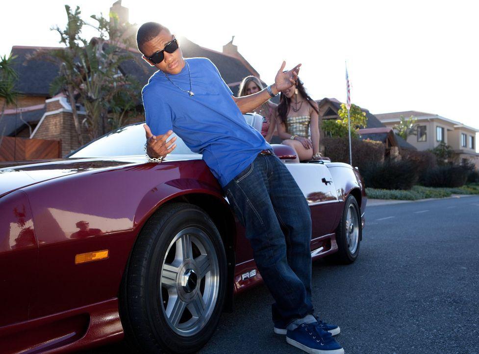 Sieht sich schon in seinen Träumen als cooler Rap-Star: Chris (Tequan Richmond) ... - Bildquelle: Warner Brothers