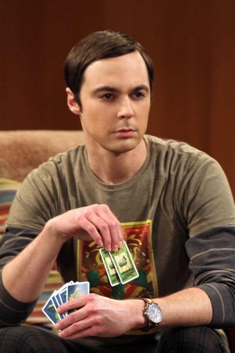 Macht eine üble Entdeckung: Sheldon (Jim Parsons) ... - Bildquelle: Warner Bros. Television