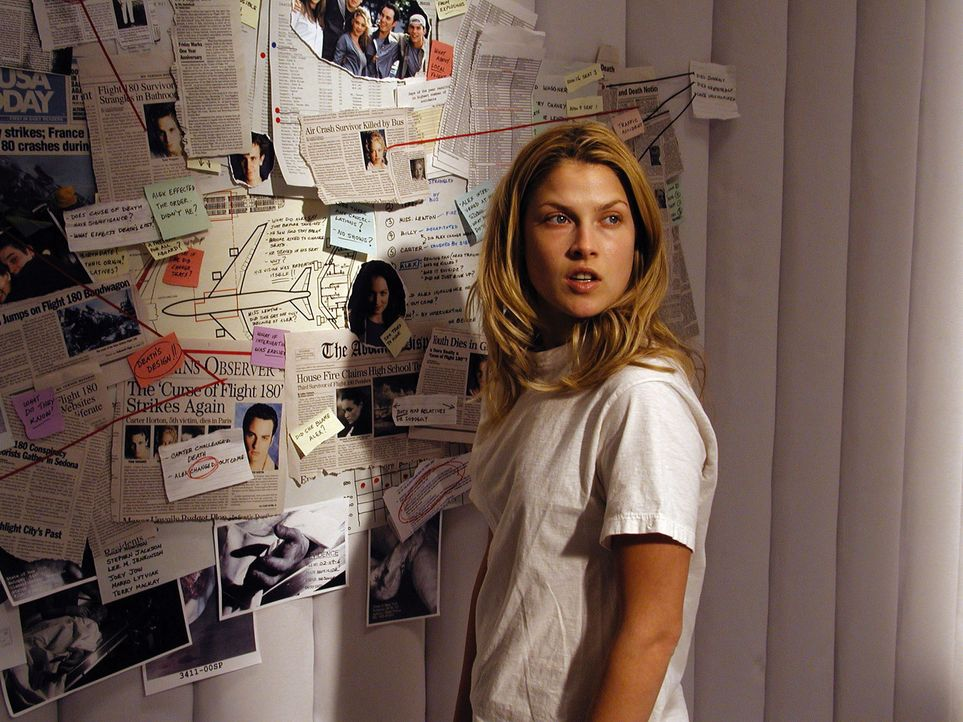 Vor einem Jahr überlebte Clear Rivers (Ali Larter) die Katastrophe des Fluges 180. Seitdem ist sie davon überzeugt, dass sie in einer psychiatrische... - Bildquelle: Warner Bros. Television