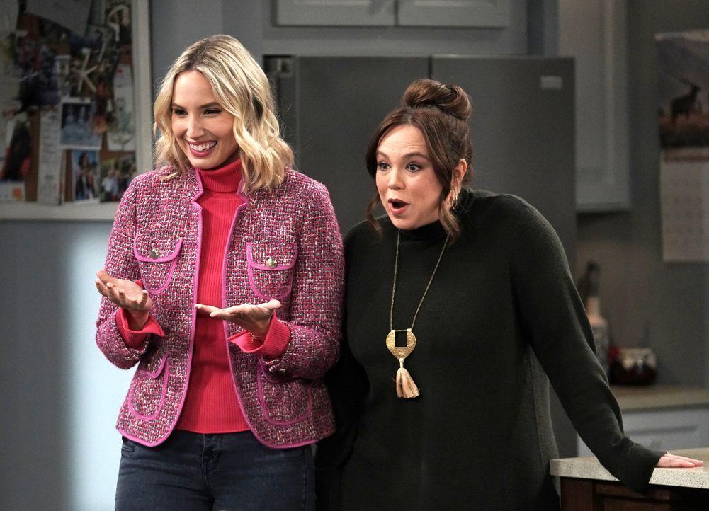 Mandy Baxter (Molly McCook, l.); Kristin Baxter (Amanda Fuller, r.) - Bildquelle: Michael Becker 2020 Fox Media LLC. / Michael Becker