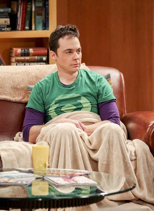 Die Nerven von Sheldon (Jim Parsons) liegen blank. Sein Notizbuch ist verschwunden und mit ihm die wichtige Air Force Formel ... - Bildquelle: 2016 Warner Brothers