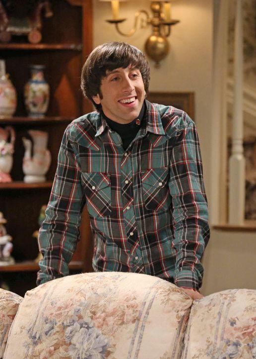 Sheldon versucht, spontan zu sein, was dazu führt, dass er mit Penny, Amy und Bernadette aneinandergerät, während Raj versucht, sich mit Howards (Si... - Bildquelle: Warner Brothers