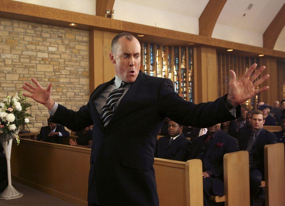 J.D. malt sich aus, wie seine Trauerfeier sein könnte: Dr. Cox (John C. McGinley) ... - Bildquelle: Touchstone Television