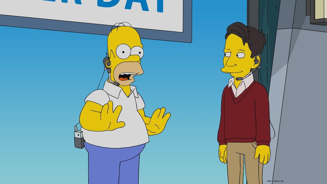 Homer (l.); Zane Furlong (r.) - Bildquelle: 2019-2020 Twentieth Century Fox Film Corporation.  All rights reserved.