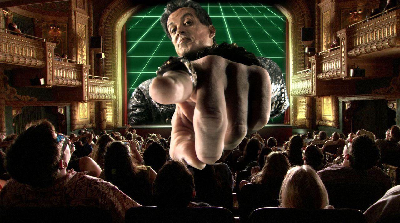 Der fiese Toymaker (Sylvester Stallone) hat ein 3D-Reality-Videogame entwickelt, mit dem er die Kinder dieser Welt beherrschen will. Eines Tages ger... - Bildquelle: 2003 Dimension Films. All Rights Reserved.
