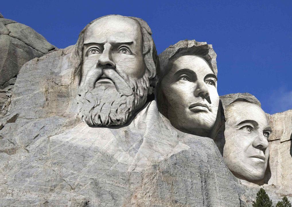 Sowohl Leonardo da Vinci als auch Albert Einstein oder Galileo Galilei haben die Welt und unseren Alltag mit ihren Visionen maßgeblich beeinflusst.... - Bildquelle: ProSieben
