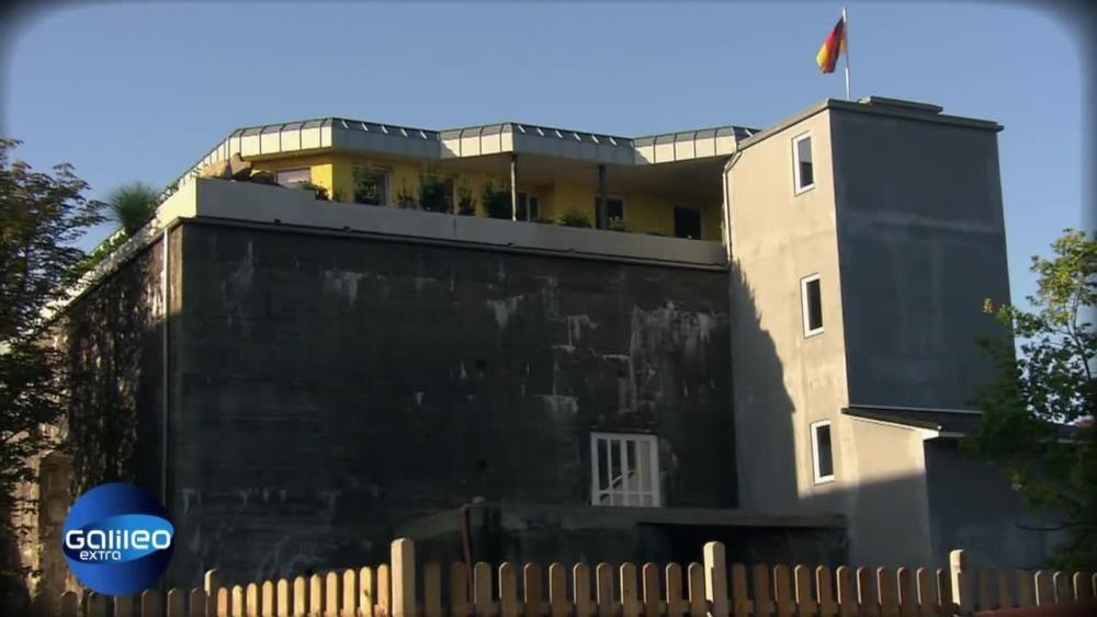 Haus auf Bunker