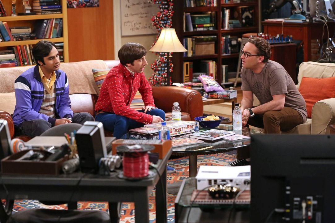 Da Sheldon mit seiner Forschung zur Dunklen Materie einfach nicht vorankommt, fasst er einen Entschluss, um seine Hirnleistung zu steigern. Seine un... - Bildquelle: Warner Bros. Television