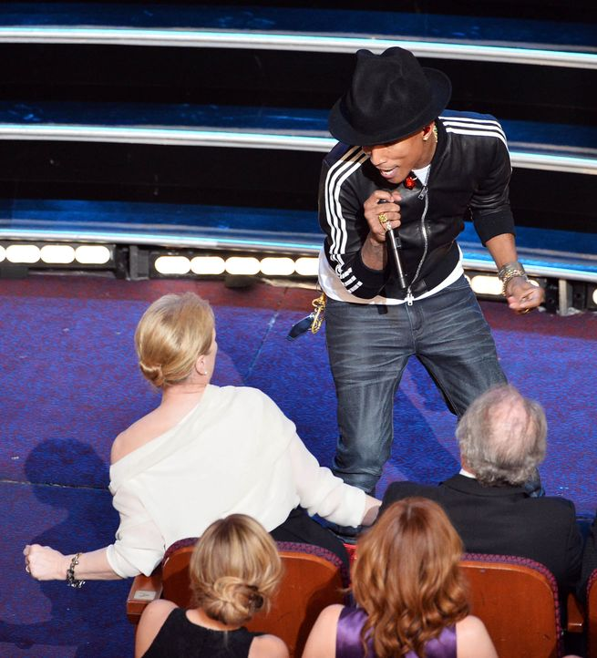 oscars-Pharrell-Williams-140302-getty-AFP - Bildquelle: getty-AFP