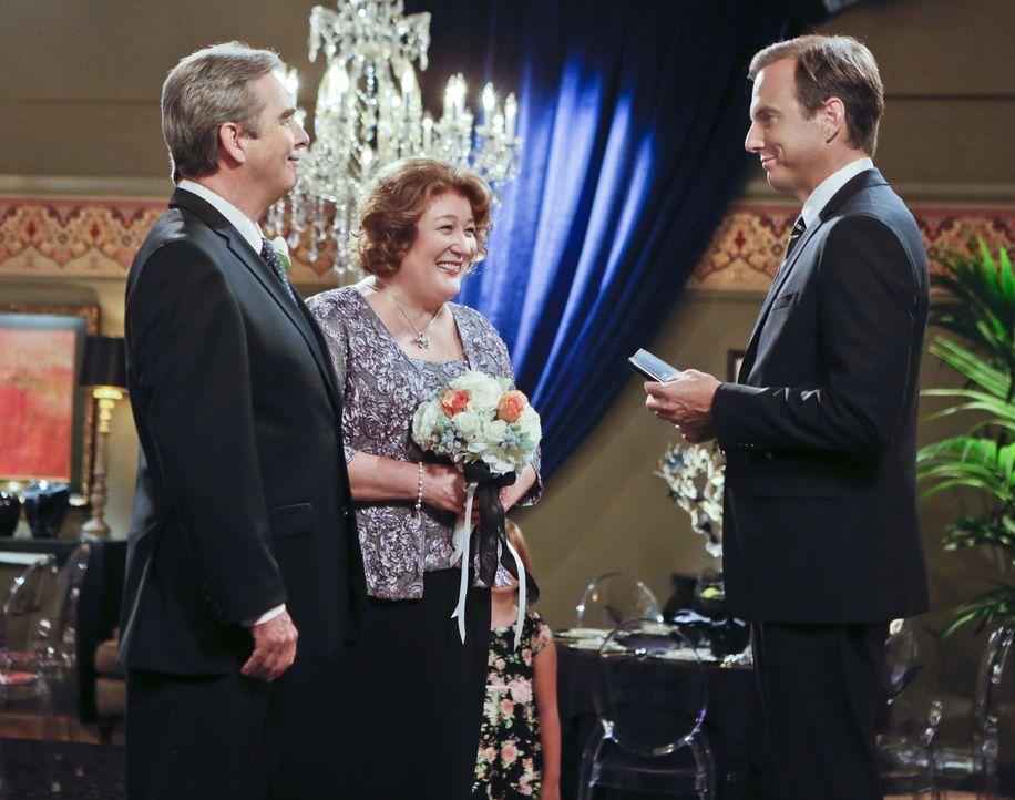 Beim Familienquiz verlieren Tom (Beau Bridges, l.) und Carol (Margo Martindale, M.) als Liebespaar und erkennen, dass sie nicht für einander geschaf... - Bildquelle: 2014 CBS Broadcasting, Inc. All Rights Reserved.
