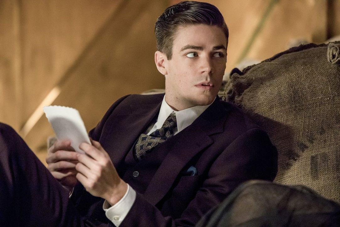 Findet Barry (Grant Gustin) einen Weg dem Wirrwarr aus Liebe und Intrige zu entkommen, in das ihn der Musik Meister geschickt hat? - Bildquelle: 2016 Warner Bros.