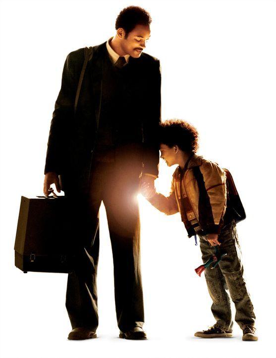 Seinen Sohn Christopher (Jaden Smith, r.) liebt Chris Gardner (Will Smith, l.) über alles. Als der Vertreter wieder einmal kein Geld nach Hause brin... - Bildquelle: METRO-GOLDWYN-MAYER STUDIOS INC. All Rights Reserved.