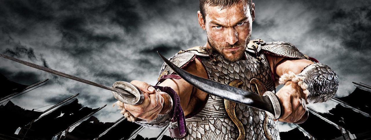 Als sich der thrakische Heeresführer Spartacus (Andy Whitfield) im Krieg gegen die Daker weigert, weiterhin für die Römer zu kämpfen, weil der römis... - Bildquelle: 2009 Starz Entertainment, LLC