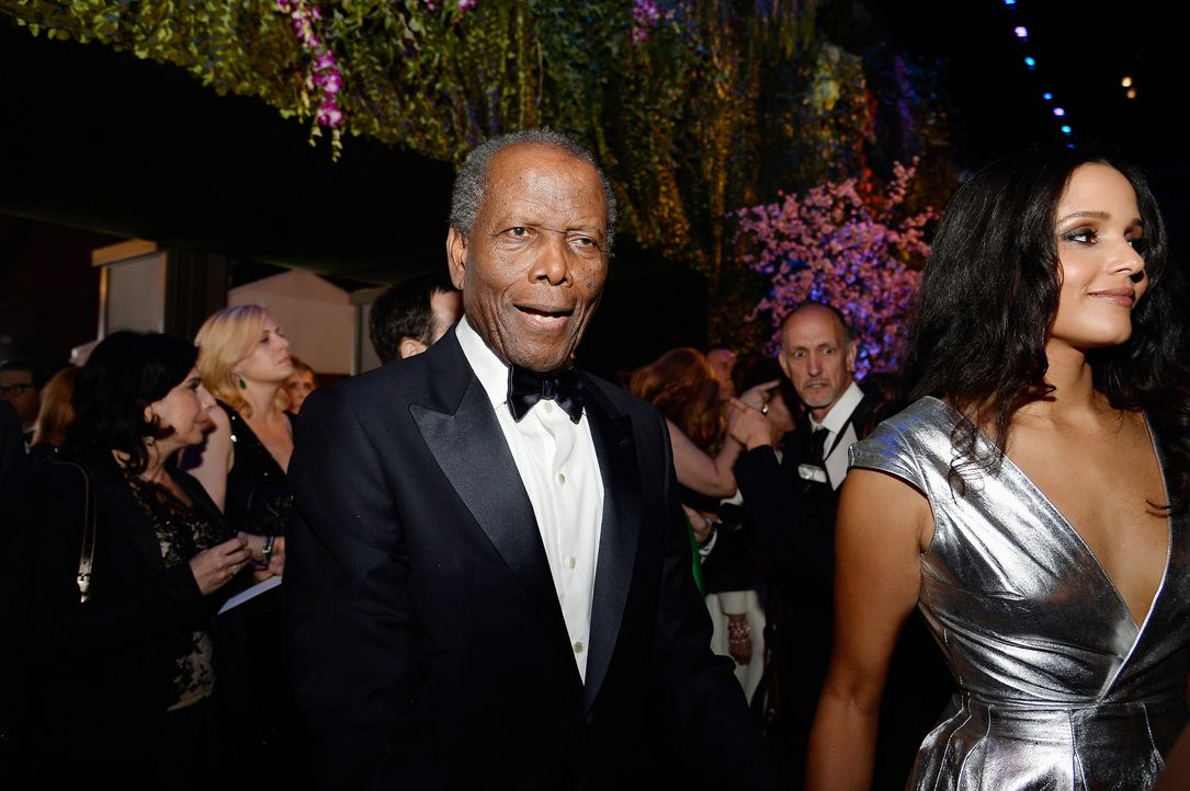 Oscars-Governors-Ball-Sidney-Poitier-Sydney-Tamiia-140302-getty-AFP - Bildquelle: getty-AFP